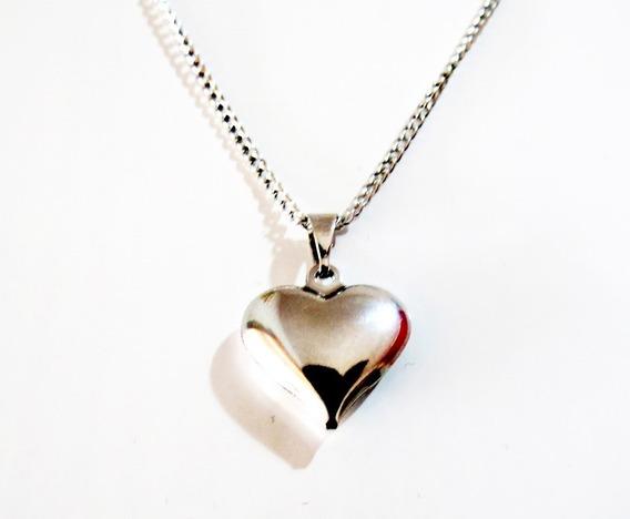 53 Coração Aço Inox Antialérgico Lembrancinha Na Promoç