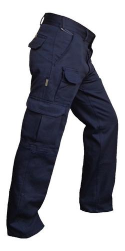Pantalon Cargo Hombre Trabajo Grafa Gabardina Explora Oferta Vestirmas