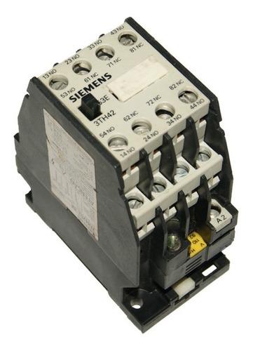 Contactor 16 Amp - Bobina 110v Siemens 3th42 - Cod. 01106