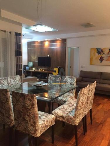 Imagem 1 de 30 de Apartamento Com 3 Dormitórios À Venda, 117 M² Por R$ 945.000,00 - Parque Das Flores - Campinas/sp - Ap8111