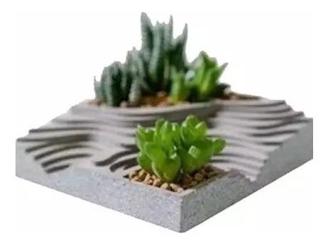 Hermosa Matera Mini Terrario En Concreto