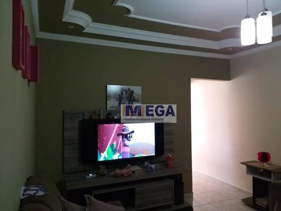 Casa Com 2 Dormitórios À Venda Por R$ 265.000 - Jardim Amanda I - Hortolândia/sp - Ca1347