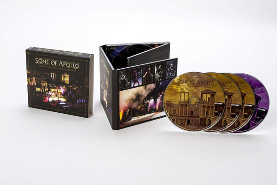 Sons Of Apollo - Live Plovdiv Psychotic Symphony   3cd+dvd