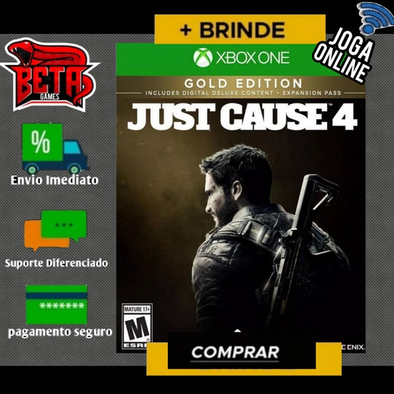 Just Cause 4 - Xbox One - Midia Digital + Brinde