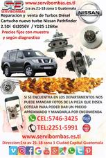 Reparación De Turbo Nissan Pathfinder Guatemala
