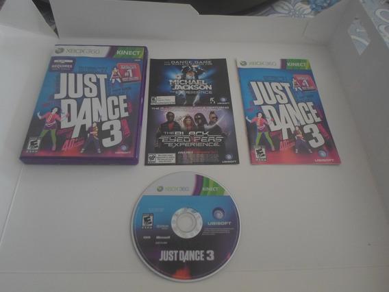 Just Dance 3 Midia Fisica Xbox 360 - Original - Completo