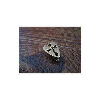 Cross Shield Parapente En Forma De Latón Paracord Cord Knife