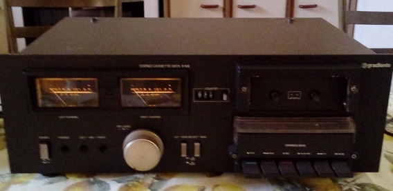 Tape Deck Gradiente S-126 - Funcionando