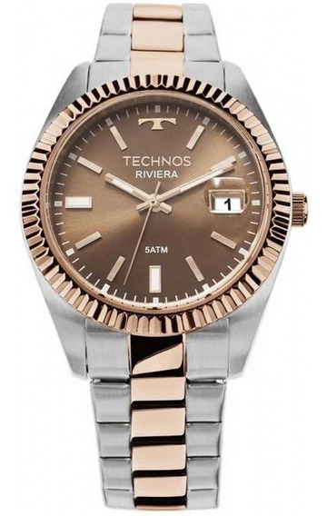 Relógio Technos Feminino Riviera Bicolor 2115kts/3m