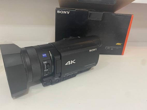 Filmadora Sony Fdr-ax100 4k Ultra Hd 4k- Sem Juros!