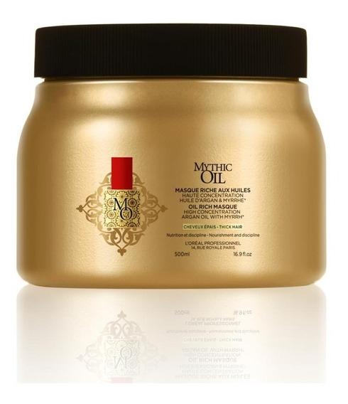 Máscara Mythic Oil L