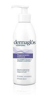 Dermaglos Emulsion Corporal Piel Sensible Regeneracion 300g