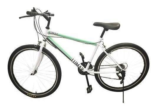 Bicicleta Lumax Montaña 21 Vel Aro 26 Varios Colores Metinca