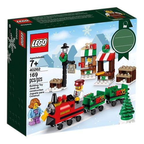 Mini Tren De Navidad Lego - 40262
