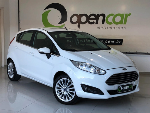 Ford Fiesta Hatch Titanium 1.6 Flex Manual 2014