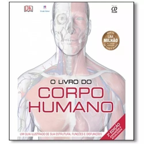O Livro Do Corpo Humano Com Cd-rom