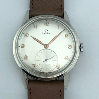 Reloj Omega Big Cuerda Manual 39mm Vintage