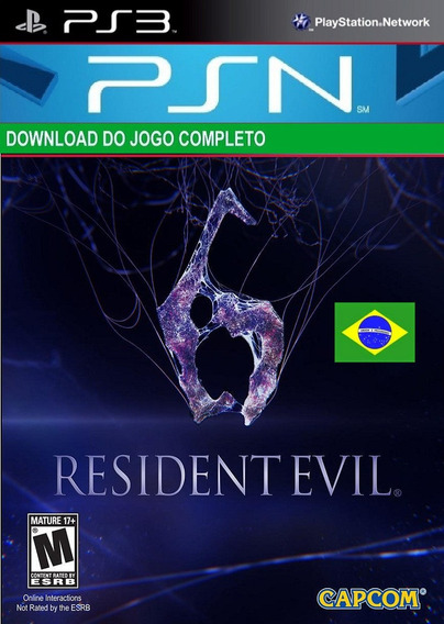 Resident Evil 6 Ps3 Midia Digital Psn Legenda Português