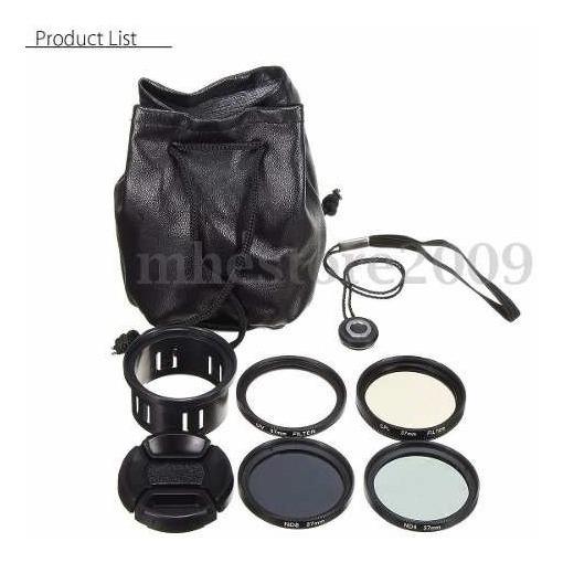 Lentes Kit 4 Filtros Phantom 4/3 Cpl Nd4 Nd8 Uv Promoção