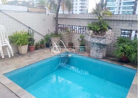 Cobertura Duplex Mobiliada, 3 Dorms, Pompéia, Santos, Cod: 3128 - A3128