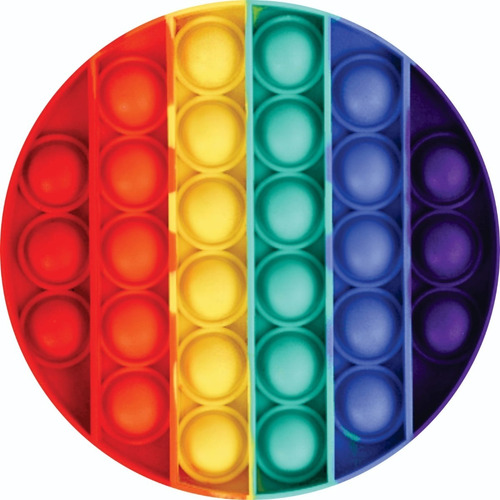 Imagem 1 de 1 de Painel Redondo Sublimado 3d -  Pop It (1,5x1,5)