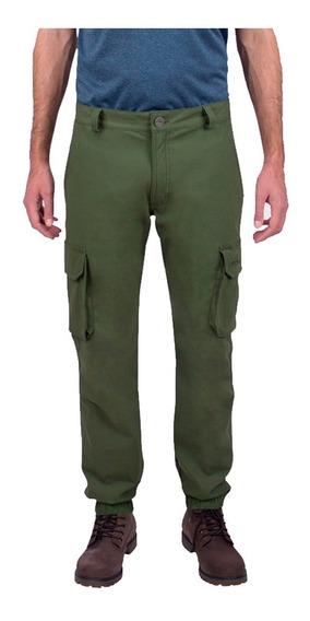 Pantalón De Hombre Harris Montagne Urbano Algodón Suave