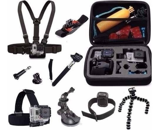 Kit De Suportes P/ Gopro 2018 Hero Session 4 5 Black 4 5 6 7