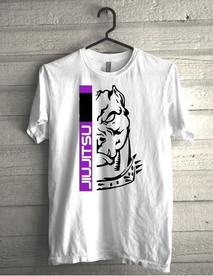 Camiseta Jiujitsu Faixa Roxa