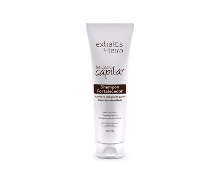 Shampoo Fortalecedor 250ml | Extratos Da Terra