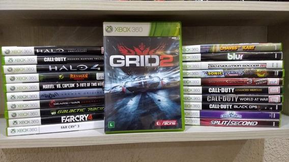 Grid 2 Xbox 360 Jogo Original - Mídia Física