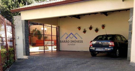 Excelente Casa A Venda No Jardim Paulista I Jundiaí - Ca0399