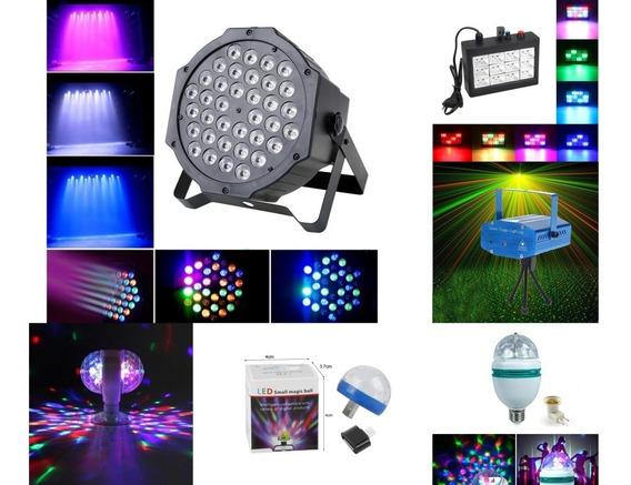 Kit Festa Iluminação 6 Peças ( Especificações Na Descrição )