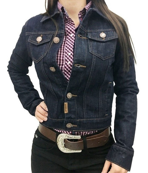 Jaqueta Jeans Feminina Pbr