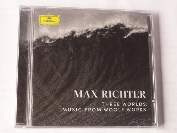 Cd Max Richter Three Worlds:music From Woolf Works Lacrado!!