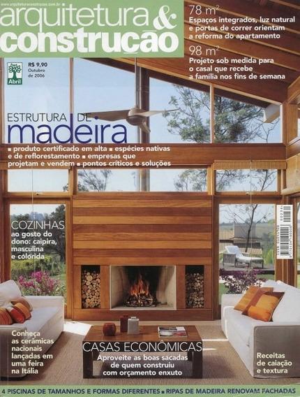 10 Revistas Arquitetura & Construção