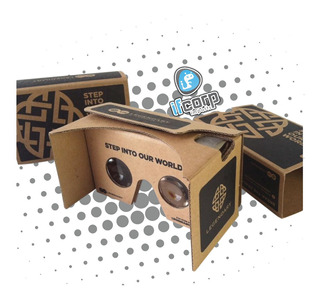 Vr Legendary Google Cardboard Lentes Realidad Virtual Sdcc