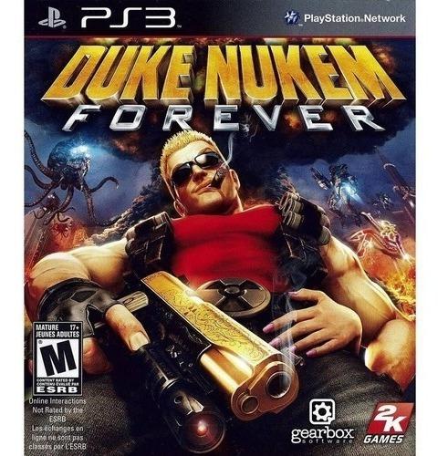 Jogo Duke Nukem Forever Ps3 M. Fisica