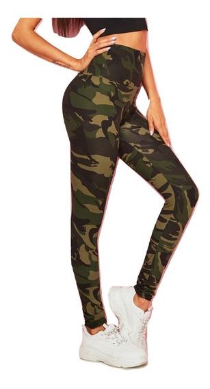 Leggins Mujer Camuflaje Leggings Casuales Ropa Mujer