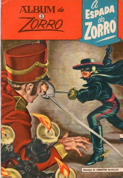Álbum Do Zorro Nº 3 - Bom Estado - Frete Grátis