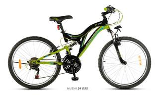 Bicicleta Mtb Aurora Dsx R24 Doble Suspensión Envío Gratis