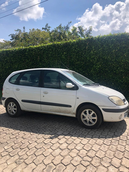 Renault Scenic Blanco Motor 1.6 Cc 2004 4 Puertas