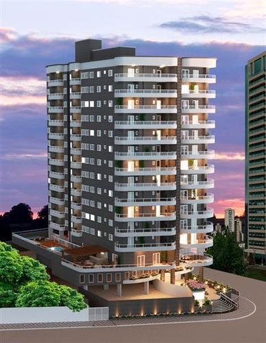 Apartamento, 2 Dorms Com 63.73 M² - Maracanã - Praia Grande - Ref.: Sh37 - 24sh37