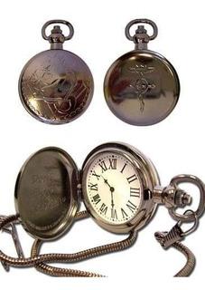 Reloj De Bolsillo Full Metal Alchemist Ge-7705