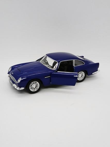 Miniatura Aston Martin Db5 1963 Carro Clássico Escala 1/38