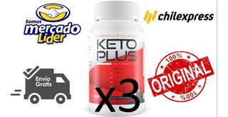 Pack 3 Pastilla Keto Plus. El Mas Potente + Envio Gratis