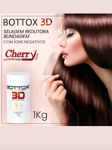 Imagem 1 de 2 de Bottox 3d Cherry Selagem, Redução E Tratamento.