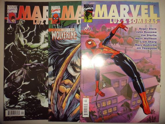 Marvel Luz & Sombras 1 2 3 Mythos 1999 Frete Gratis Excelent
