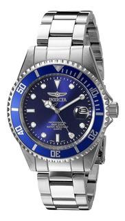 Reloj Invicta 9204ob Pro Diver 200m Acero Agente Oficial