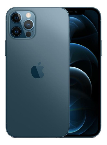 Celular Smartphone Apple iPhone 12 Pro 128gb Azul - Dual Chip