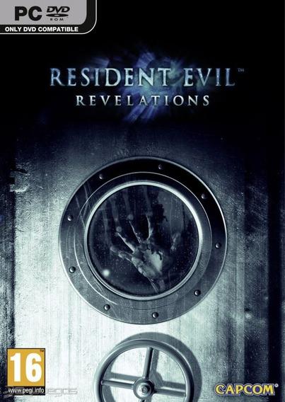 Resident Evil Revelations Pc Original Frete Gratis !!
